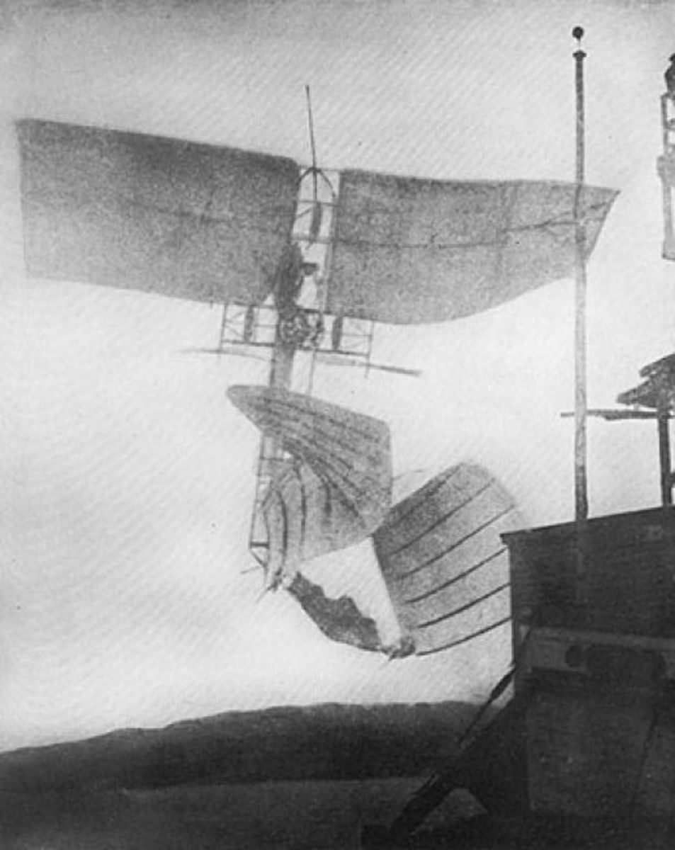 Langley's second failure in manned flight, December 8, 1903.