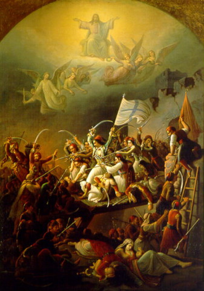 Poetry - Greek War of Independence 1821