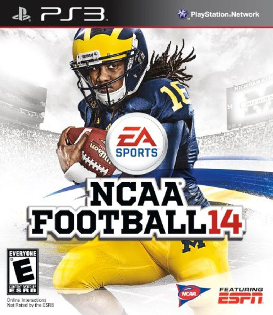 NCAA Football 14 on PS3