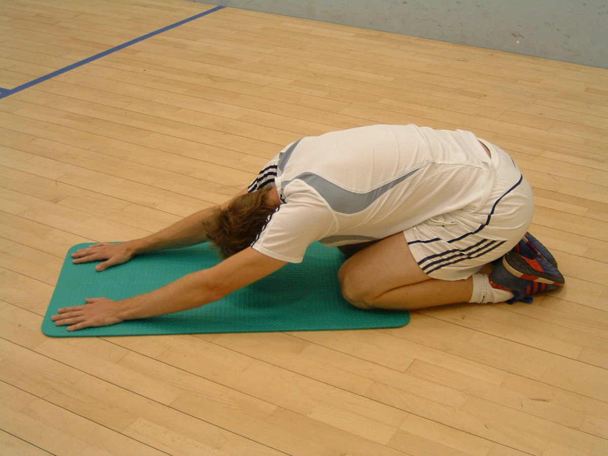 Stretch your lower back like this