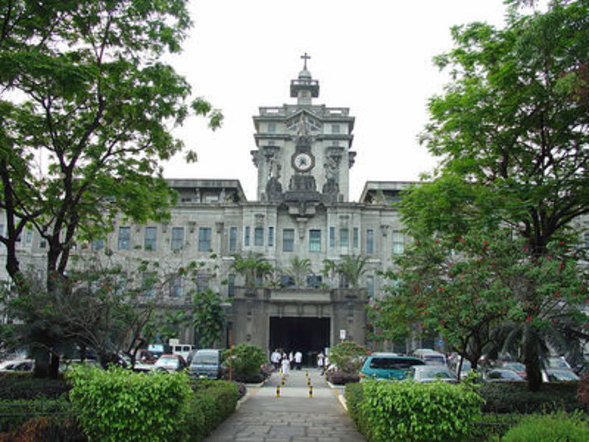 The Pontifical and Royal University of Santo Tomas. The first catholic university of the Philippines, established  in 1611.