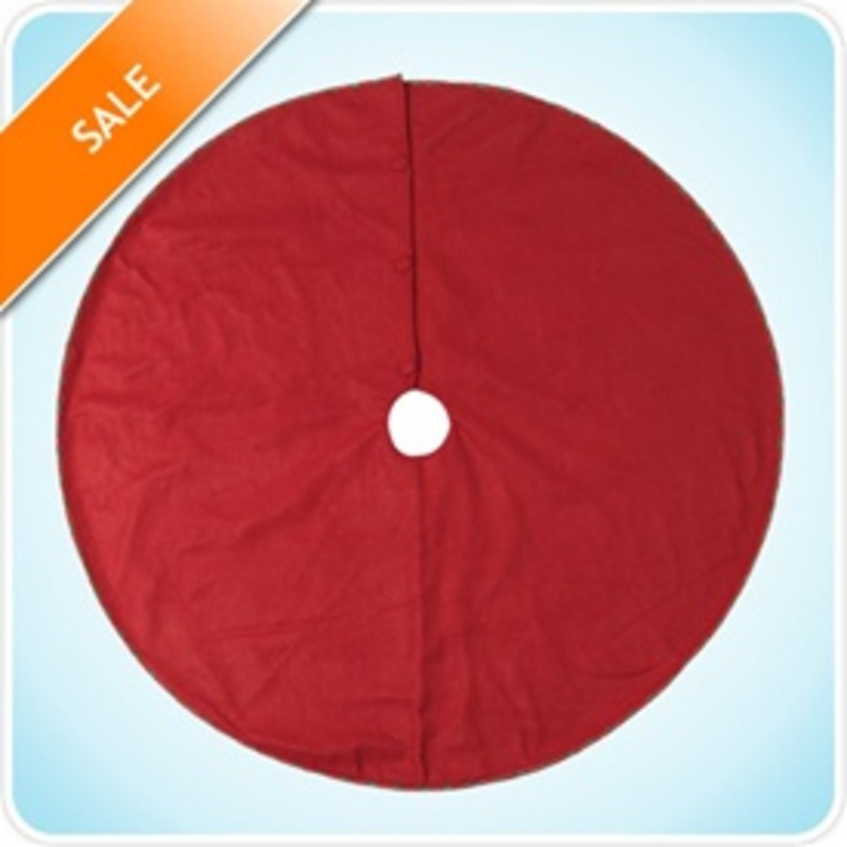 Red Christmas Tree Skirts