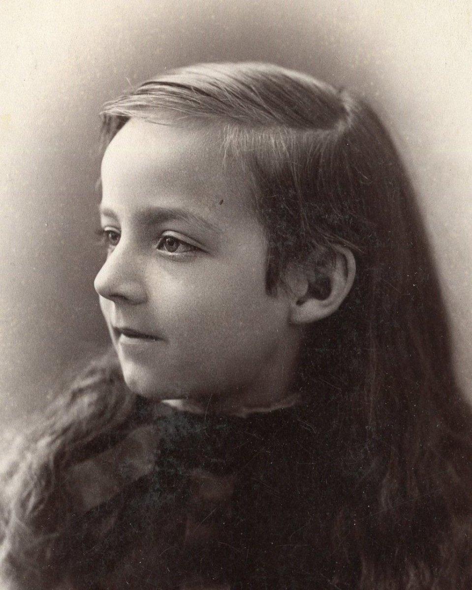 19th century girl the sleeping girl of turville.