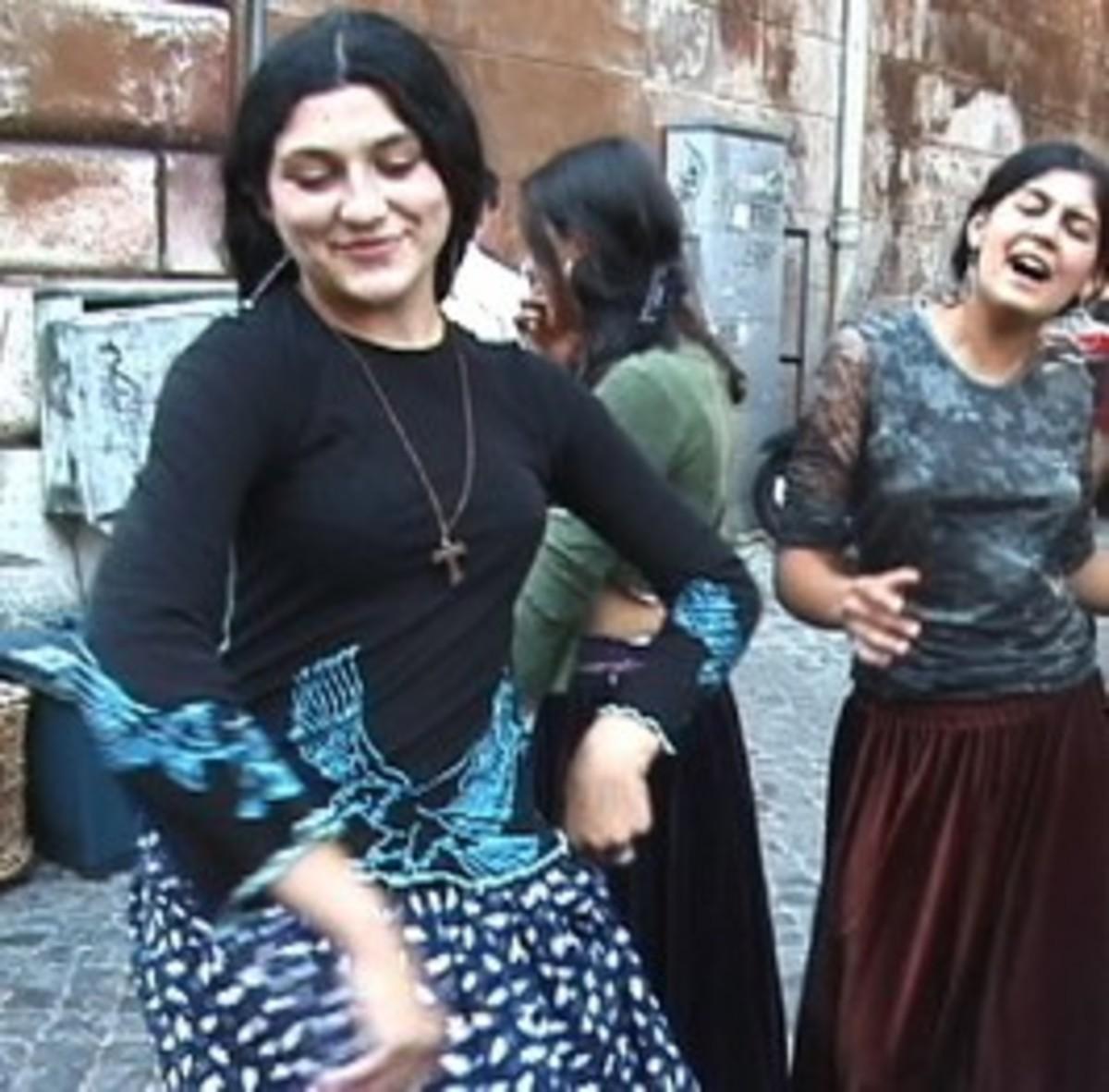 Seguidillas Manchegas dance