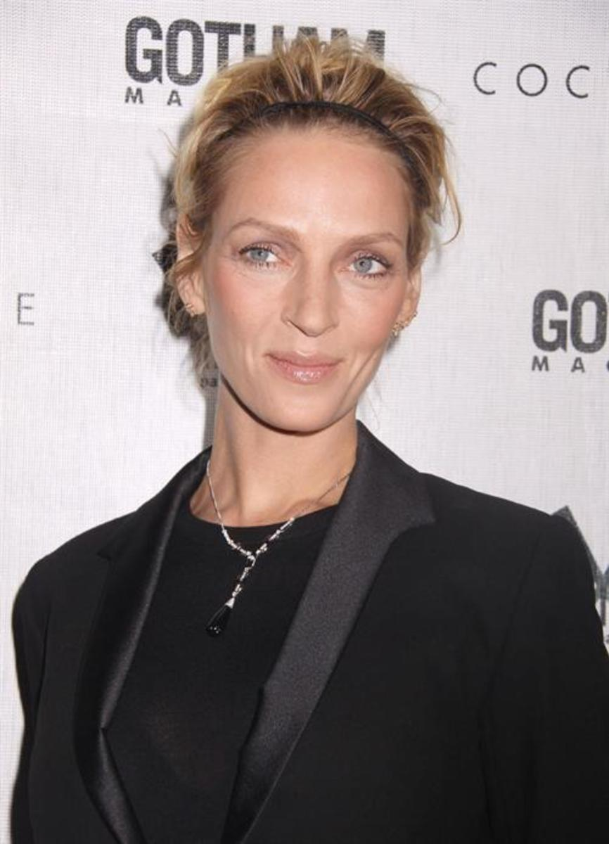 Uma Thurman appeared as Emma in the disastrous 1998 film version of the TV series