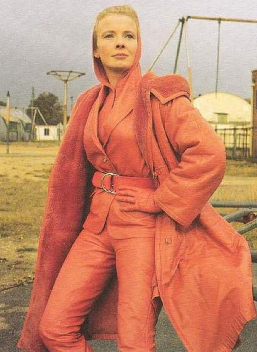 Elizabeth Shepherd, the original choice to play Emma Peel.