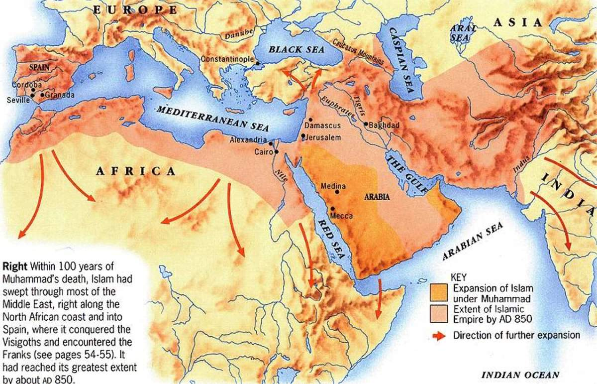 MUSLIM CONQUESTS OF CHRISTENDOM