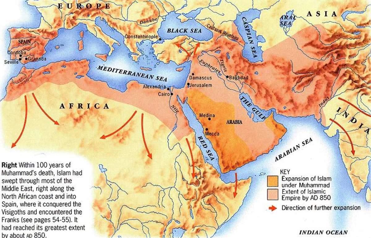 MUSLIM CONQUESTS OF CHRISTENDOM