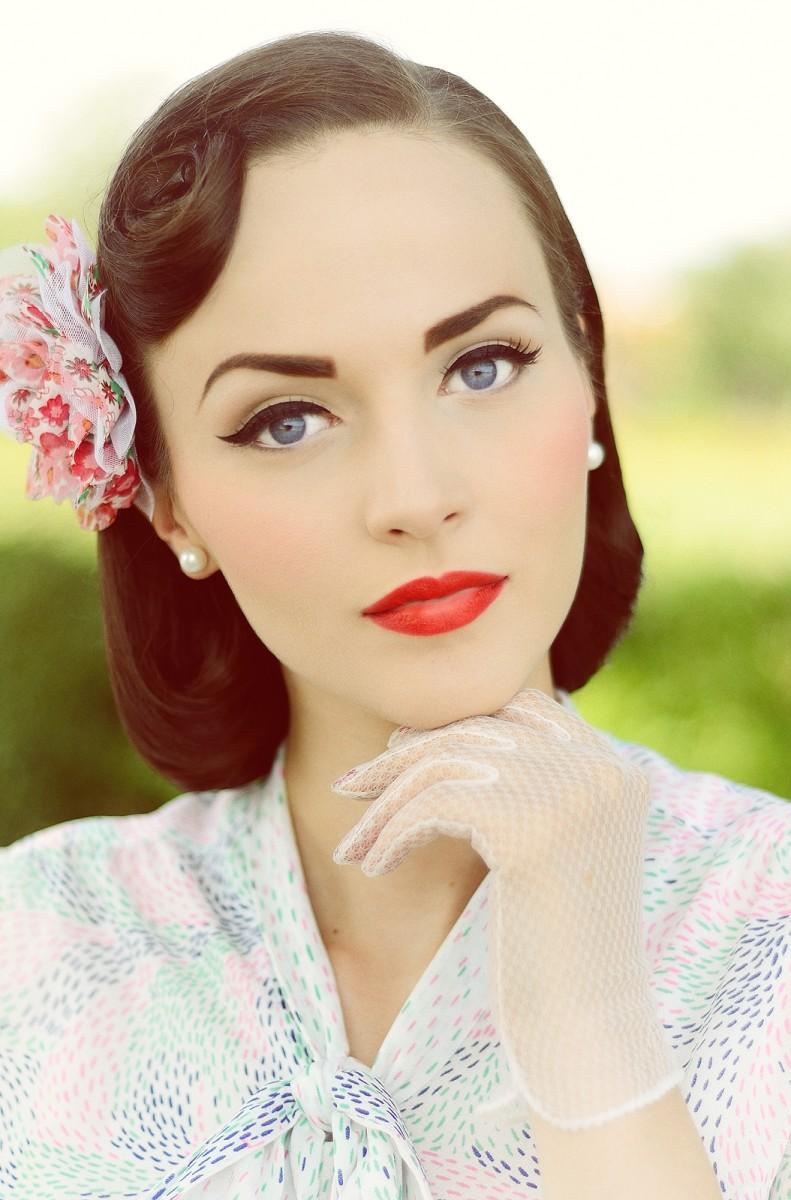wearable pin up makeup tutorial
