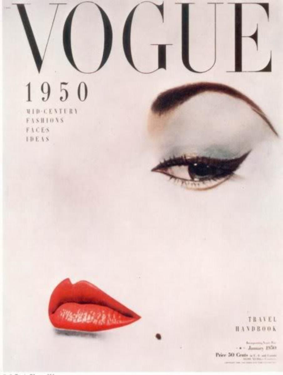1950 Vogue magazine cover