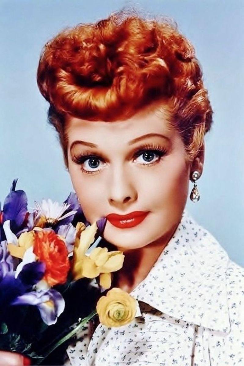 Lucille Ball or Lucy Ricardo