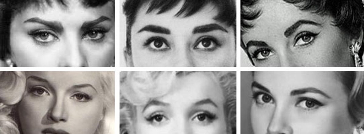 1950's Eyebrow Shapes