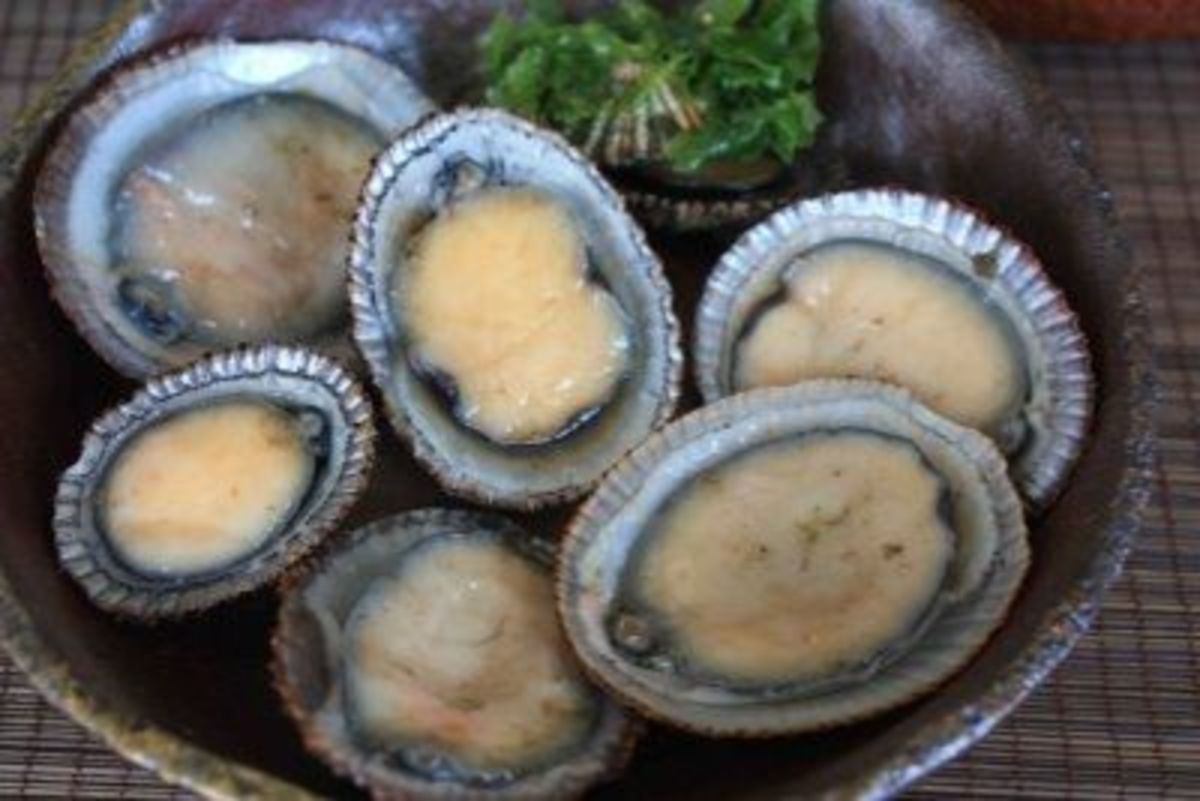 Opihi (raw limpets)
