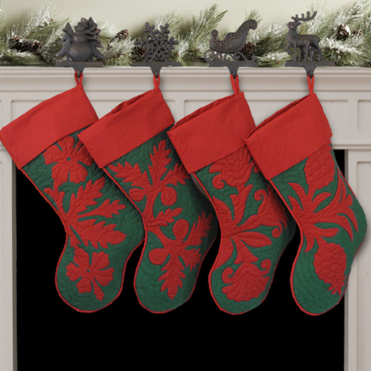 Hawaiian Quilt Christmas Stockings