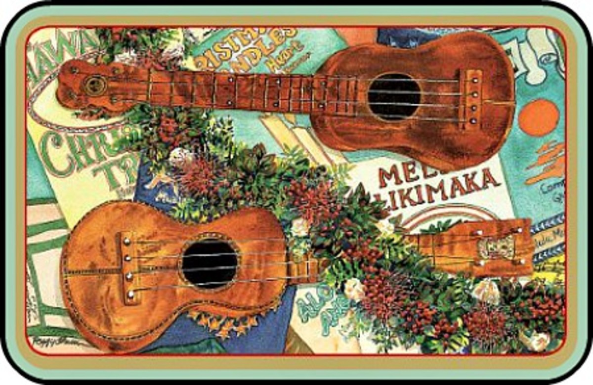 The Joyous Sound of the 'Ukulele by Peggy Chun