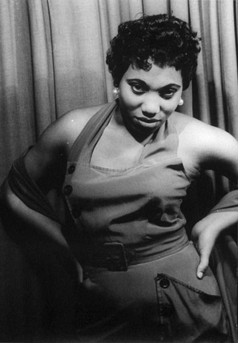 One of my heroes! Leontyne Price, opera singer, in 1953. She visited my junior high vocal music class many years later.