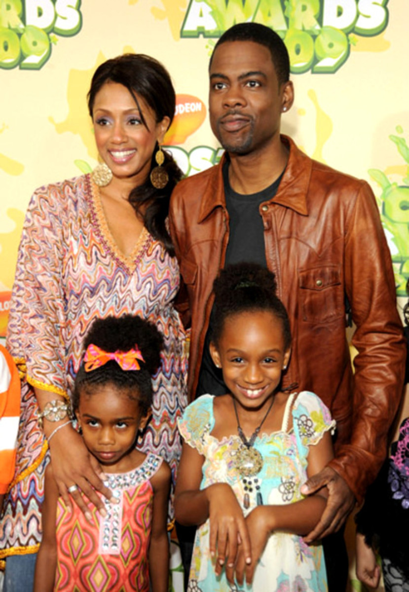 Chris Rock and Family.