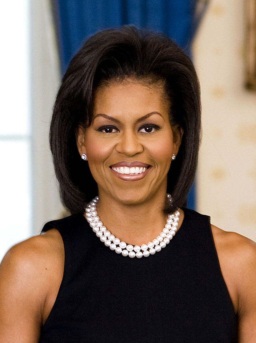 First Lady Michelle Obama on February 18, 2009.