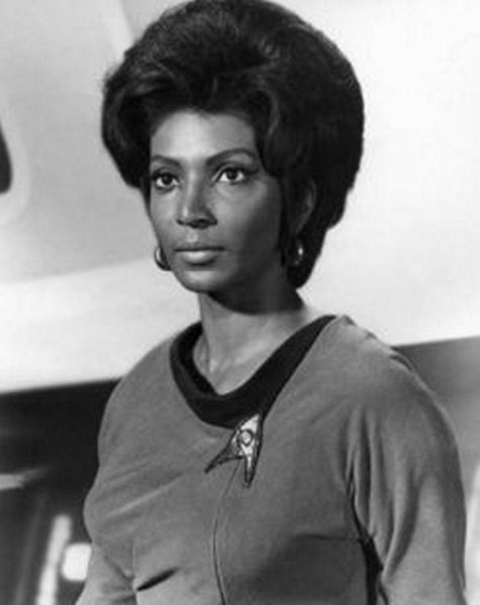 Nichelle Nichols, 1966 - 1969 on Star Trek: TOS.