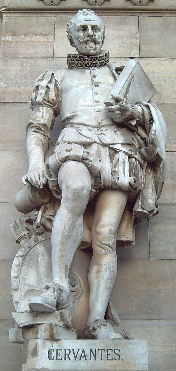 Cervantes was a comedic genius.