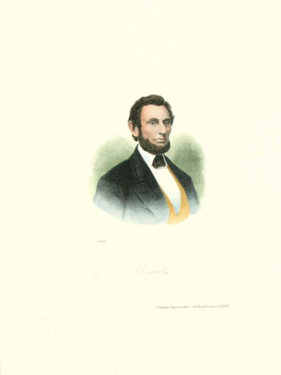 Abe Lincoln courtesy of allposters.com