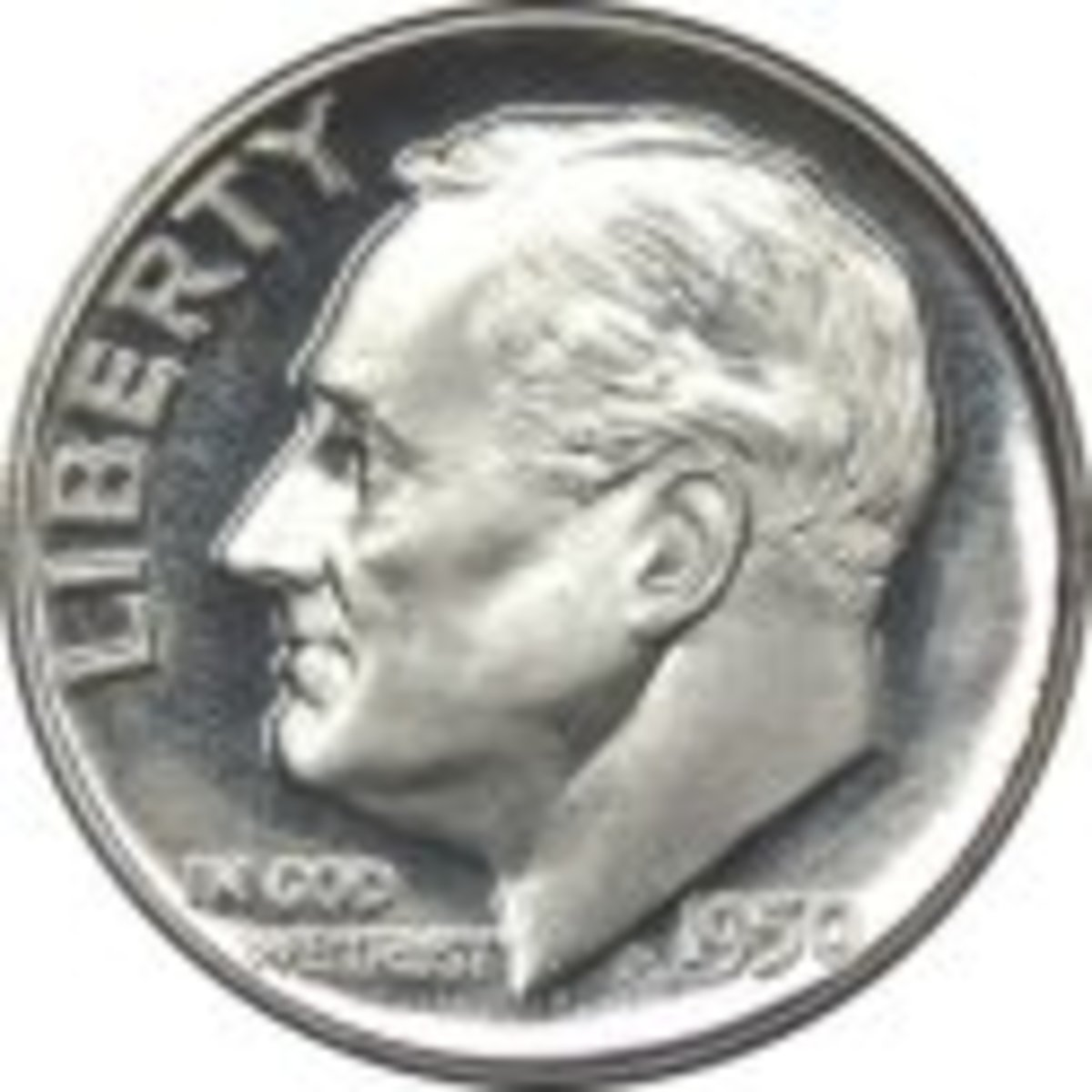 One of the most common pieces of Silver you will find is the Roosevelt Dime.