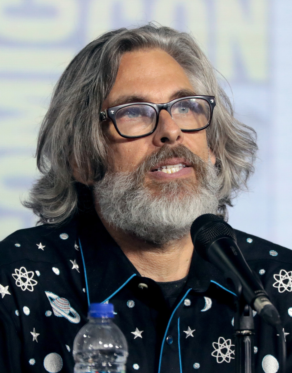 Michael Chabon speaking at the 2019 Michael Chabon at San Diego Comic-Con International in San Diego, California.  Photo by Gage Skidmore