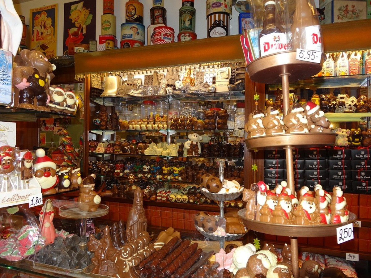 Well Stocked Chocolate Shop