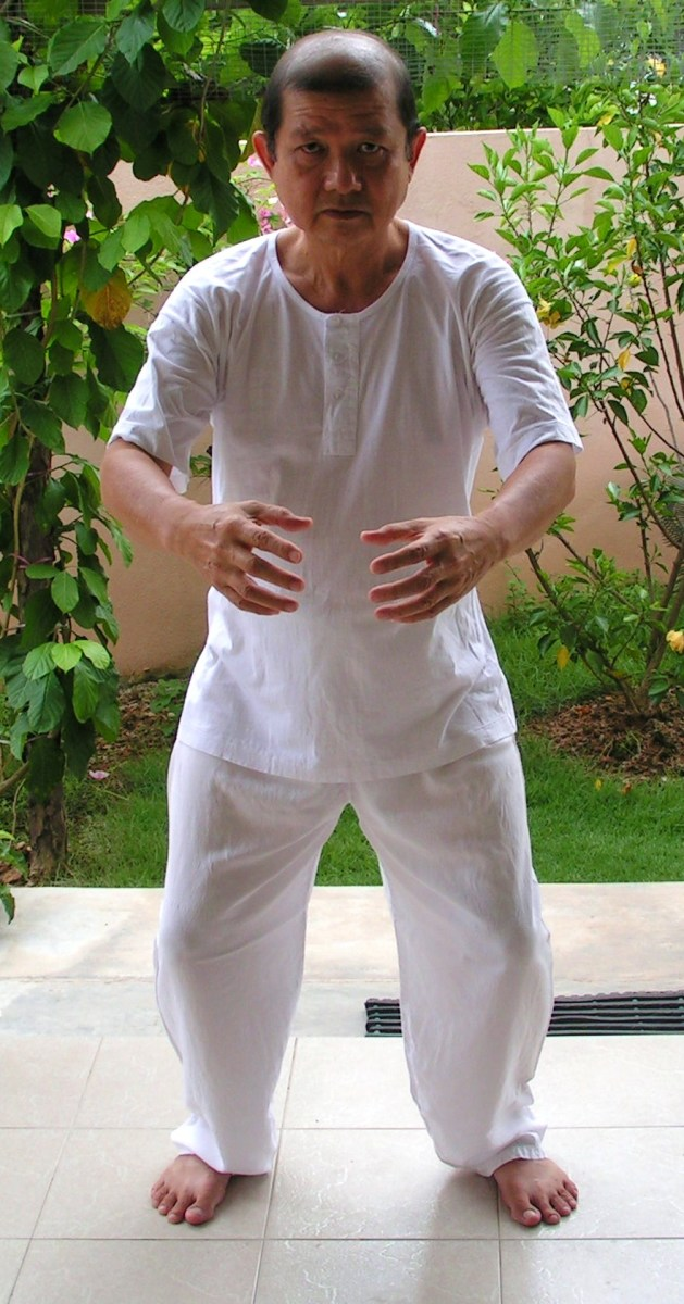 Horse Stance Qigong Exercise