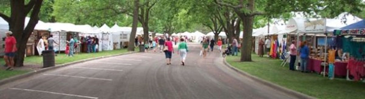 brookings summer art fair
