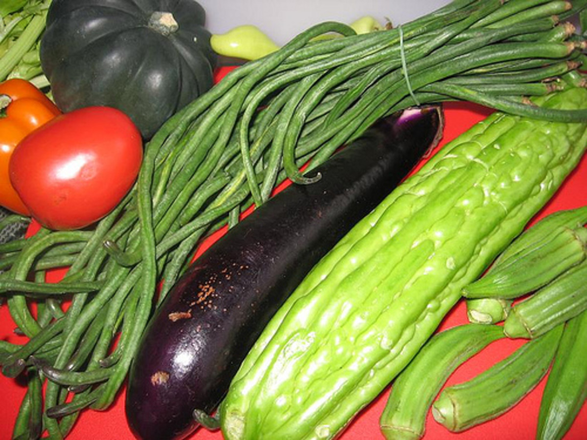 Pinakbet Vegetables (Photo courtesy by Taga-Luto from Flickr.com)