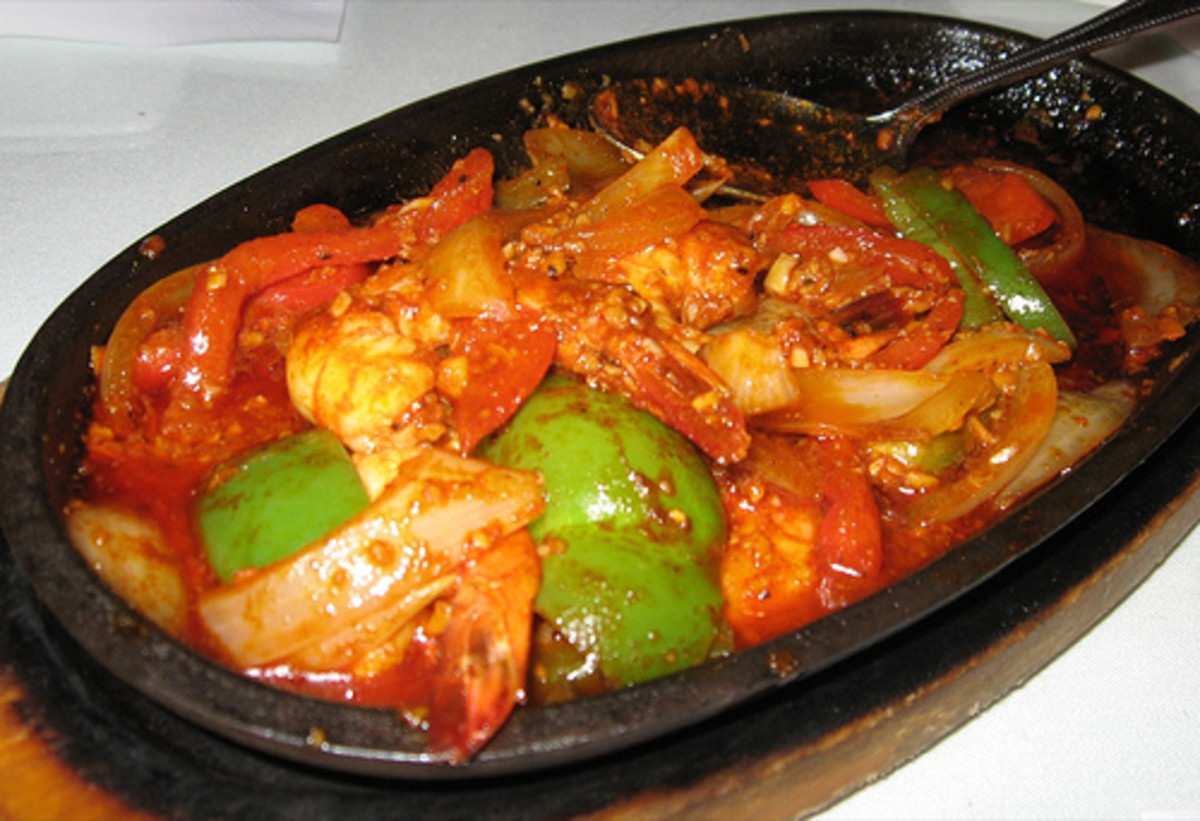 Gambas - Prawns with Veggies (Photo courtesy by arnold|inuyaki from Flickr.com)