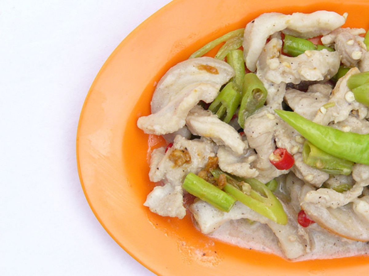 Bicol Express with Pork (Photo courtesy by Likha sa Palad from Flickr.com)
