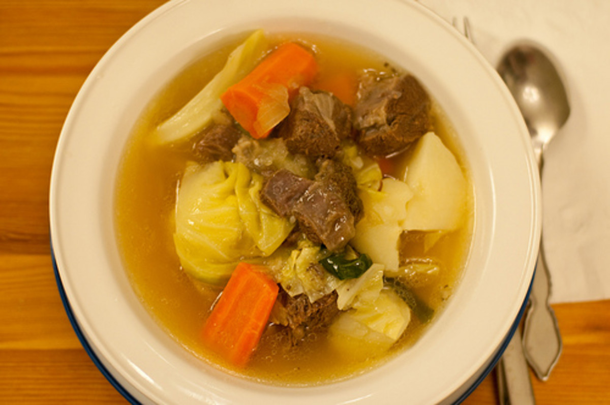 Nilagang Baka - Beef and Vegetables in Clear Broth (Photo courtesy by VirtualErn from Flickr.com)