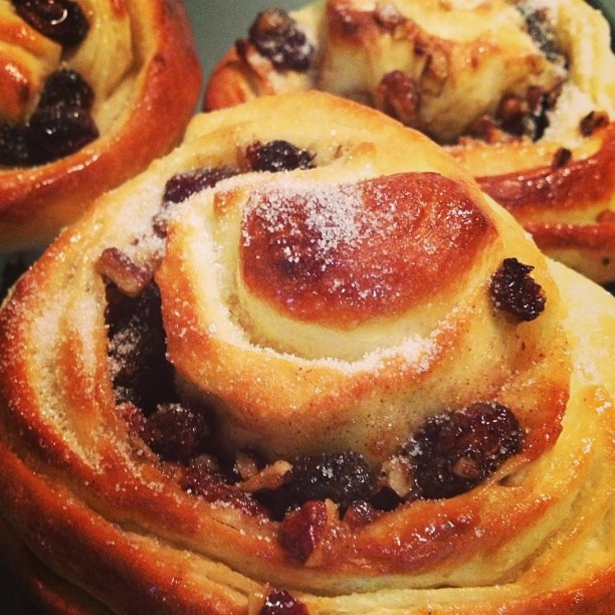 Chelsea Buns - an English Bun with a past!