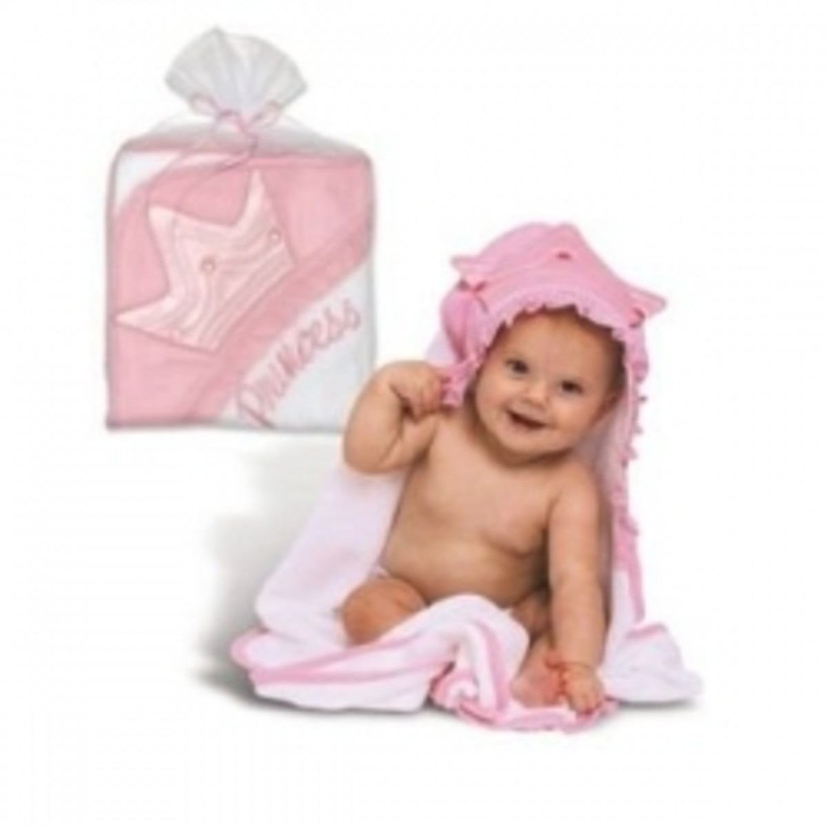 Kids Princess Hooded Bath Towels
