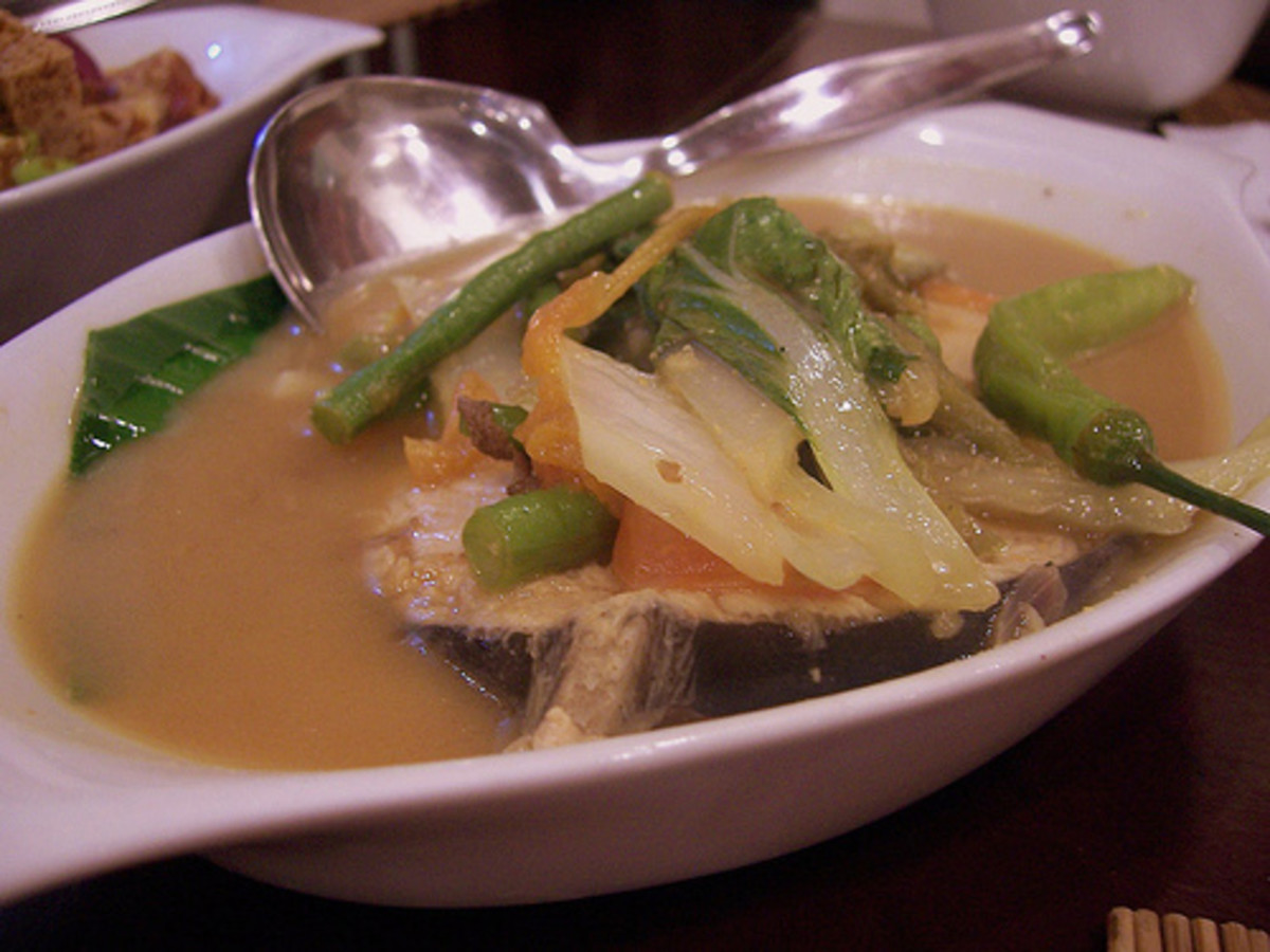 Sinigang na Tanigue (Photo courtesy by bingbing from Flickr.com)