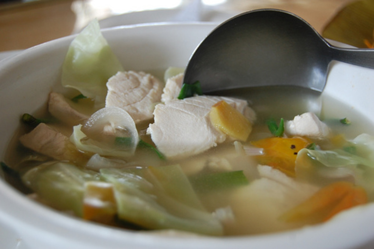 Fish Tinola (Photo courtesy by georgeparrilla from Flickr.com)
