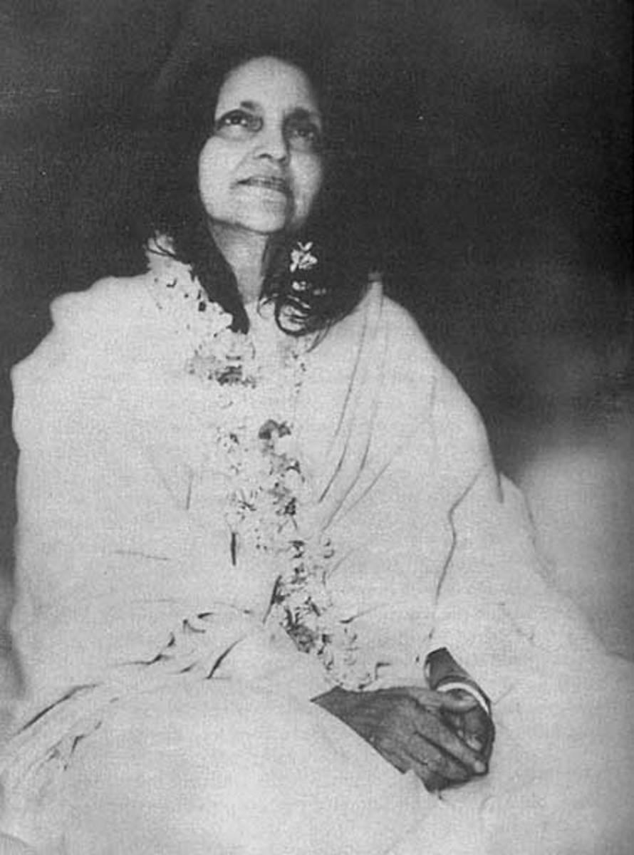 Sri Ma in Samadhi
