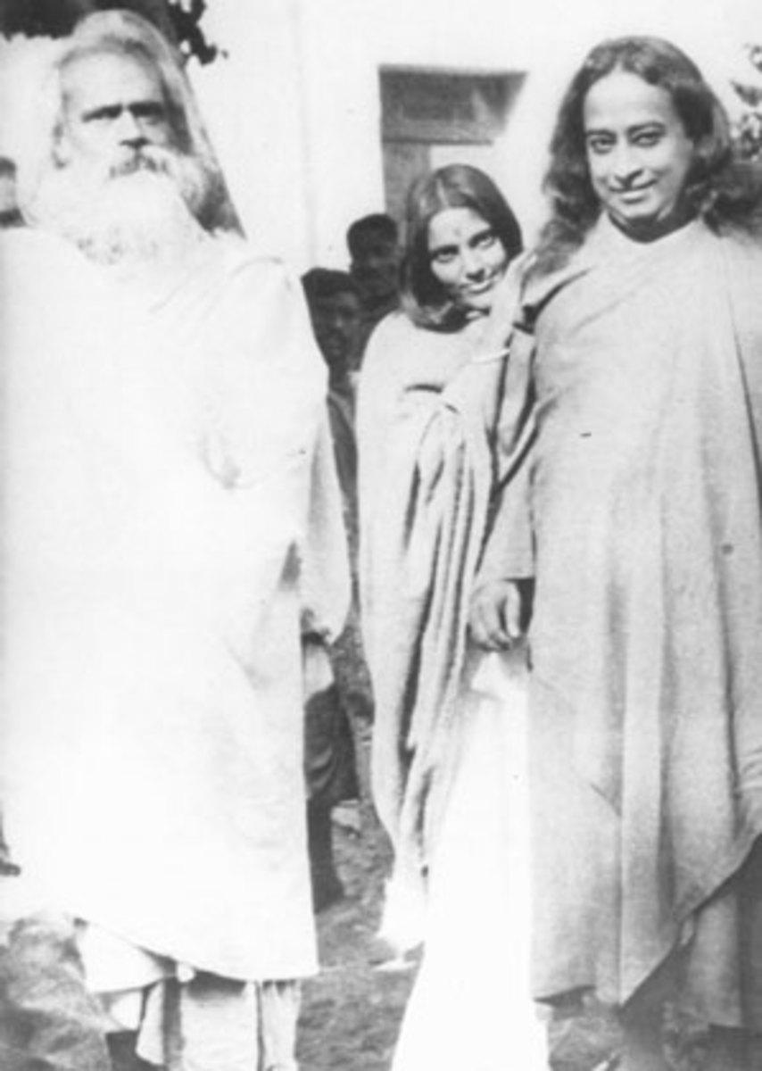 Paramahansa Yogananda Meets Sri Ma