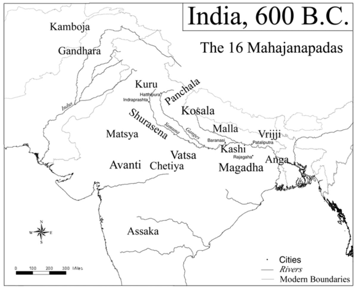 India 600BC