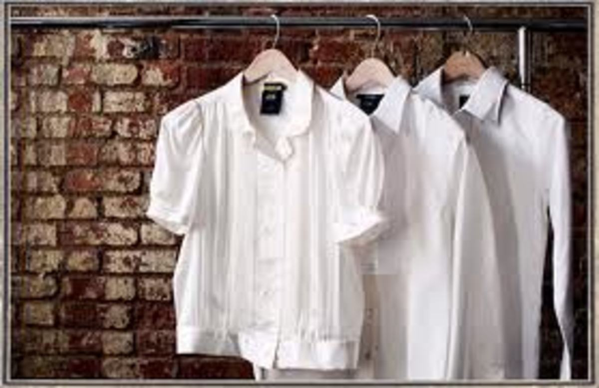 white shirts women