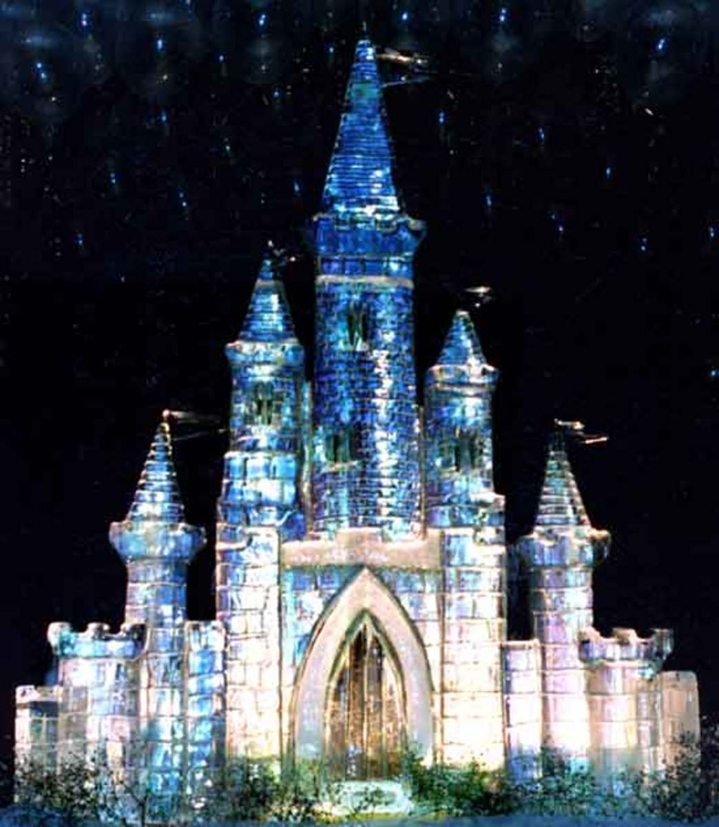 Fairytale Ice Castle