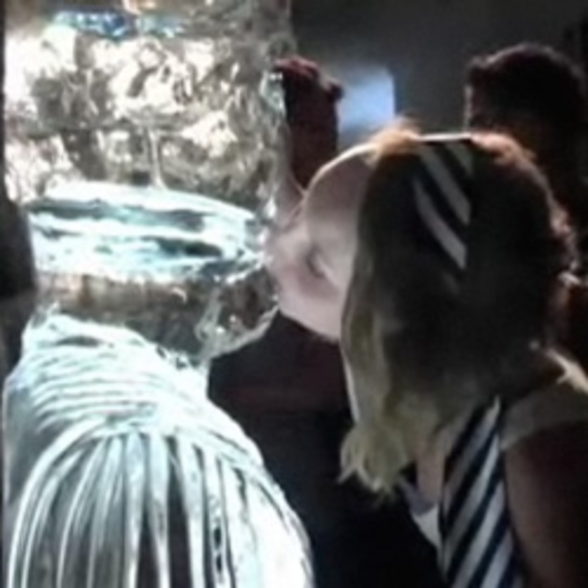 Kissing Ice Luge