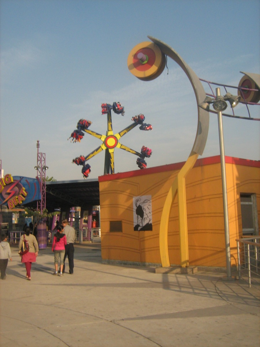 Twister - Thrilling ride of Worlds of Wonder Noida