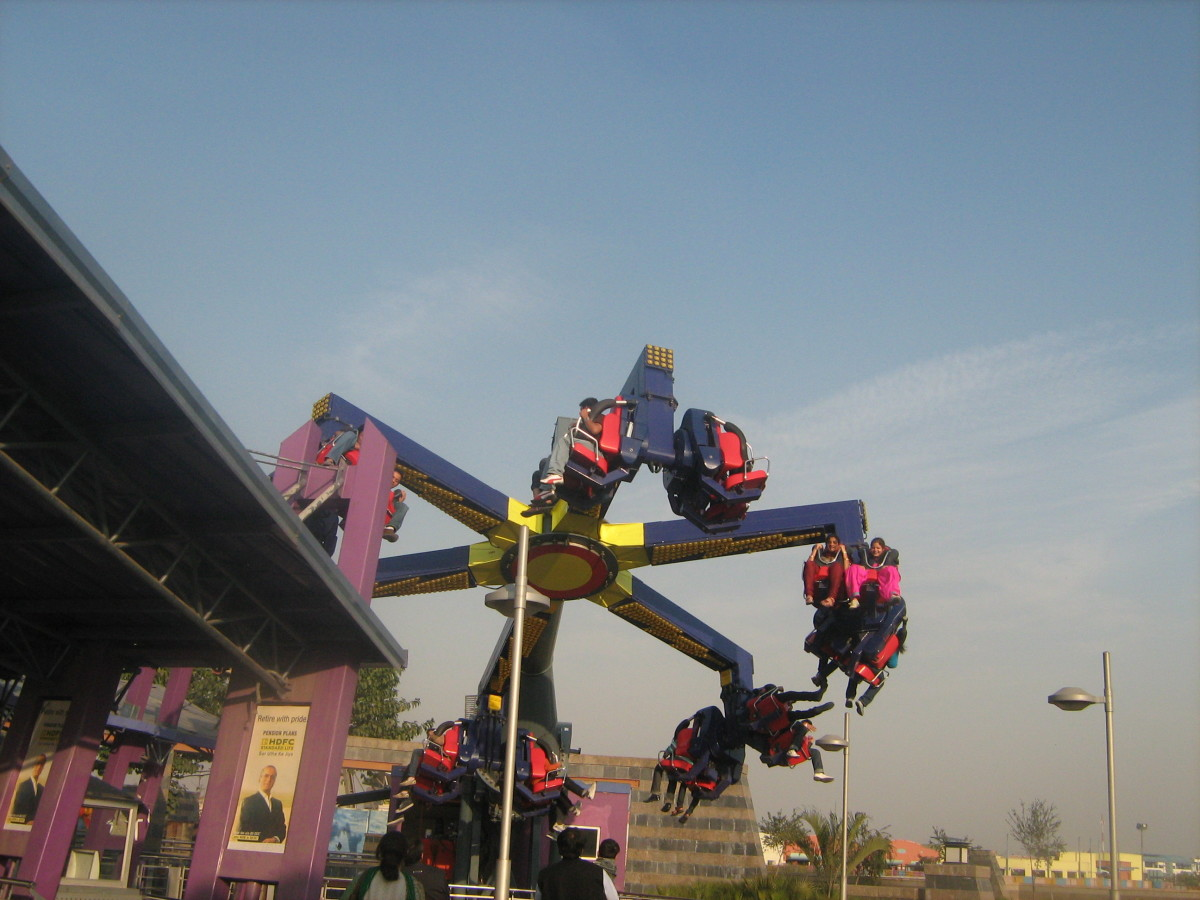 Thrilling Twister WOW Amusement Park Noida