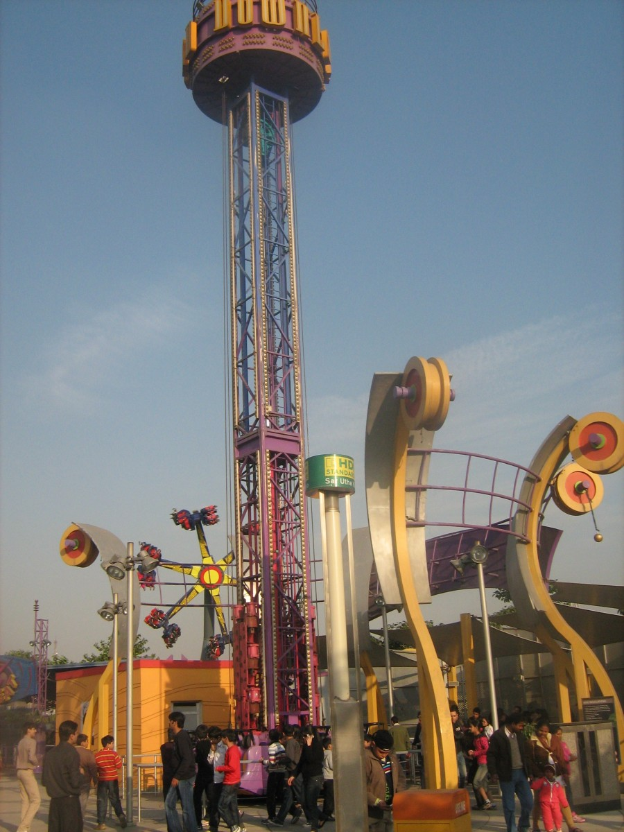 Best Amusement Park in Noida - Worlds of Wonder Noida - Download Ride of WOW Noida