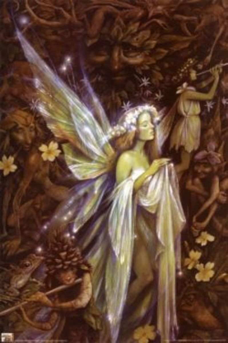 Brian Froud's version of Tinker Bell
