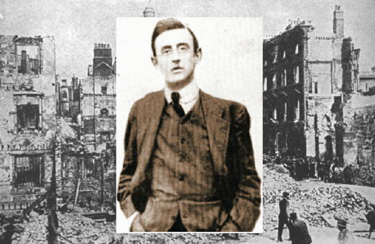 Joseph Plunkett  was one of the Leaders of The 1916 Easter Rising in Ireland