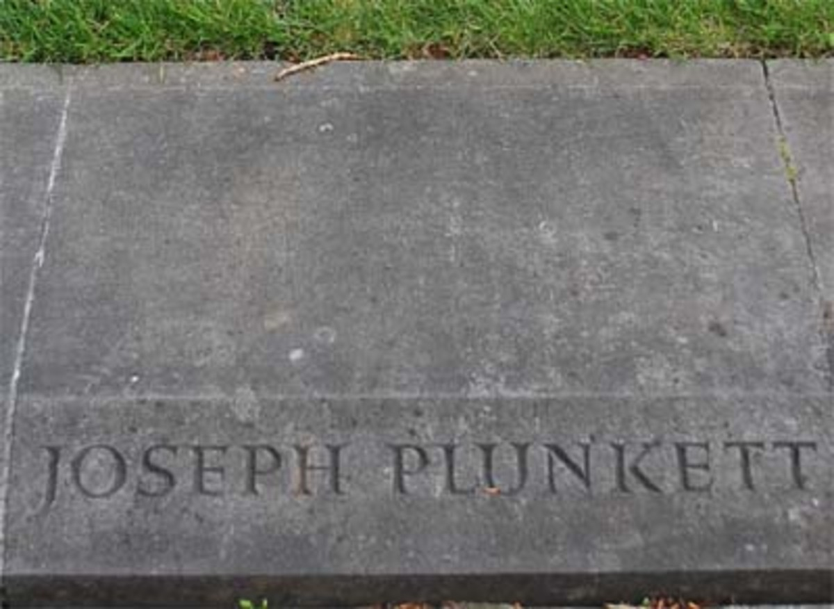 Grave in Arbour Hill